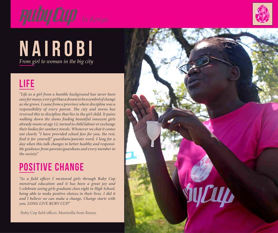 Ruby Cups in Kenya