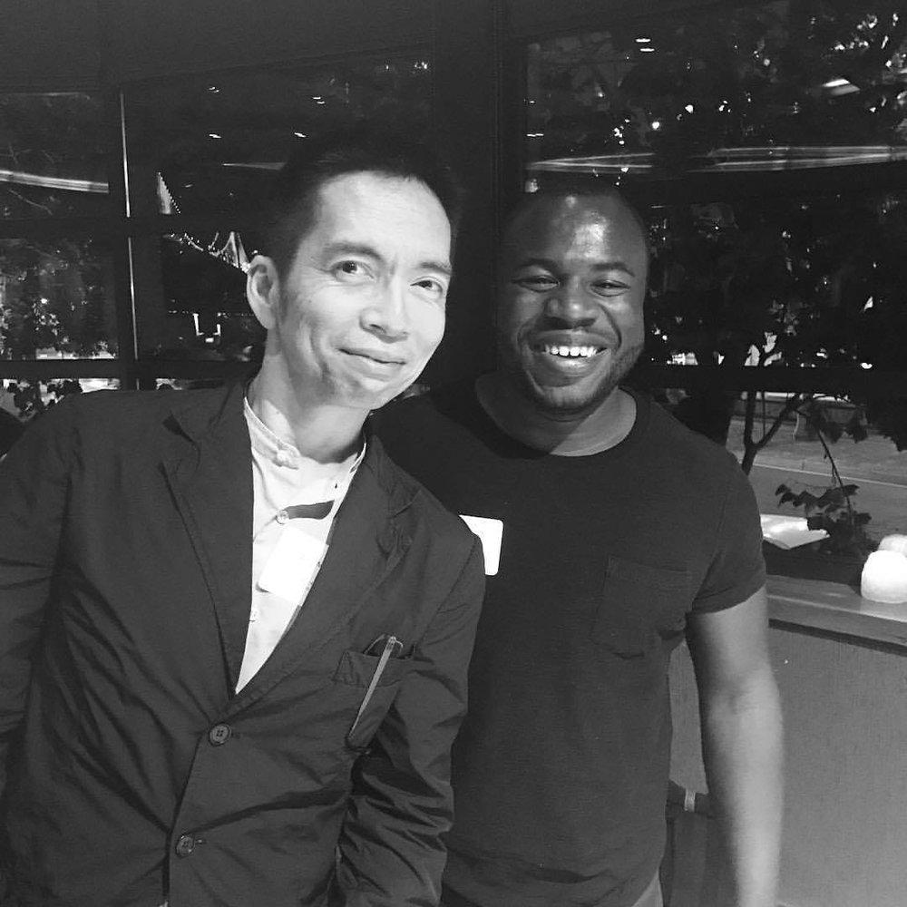 The great,John Maeda (and I)