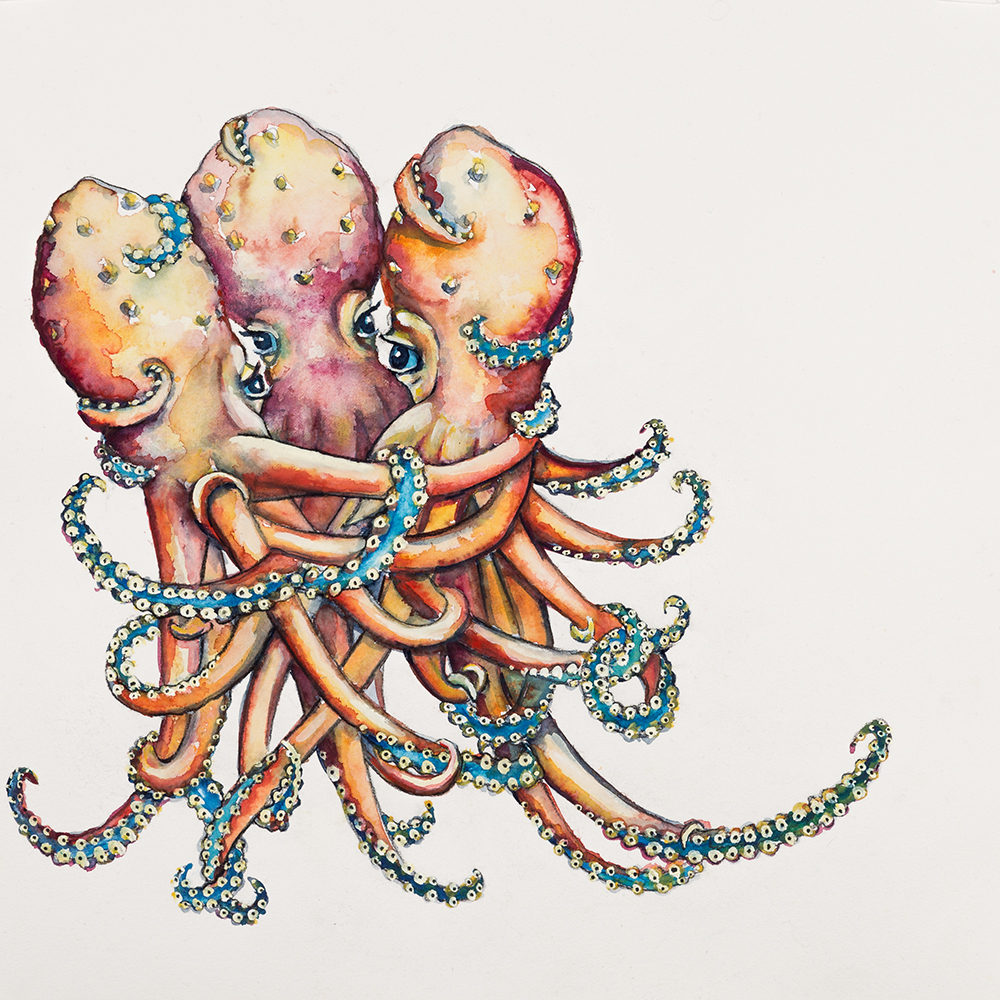 Tangle of octopi' (2015) Helen Kocis Edwards