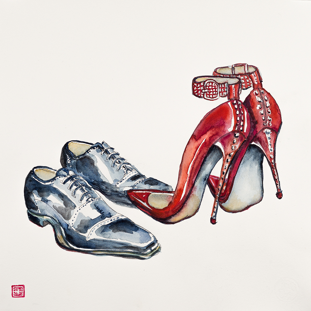 'Scandal of Shoes' (2015) Helen Kocis Edwards