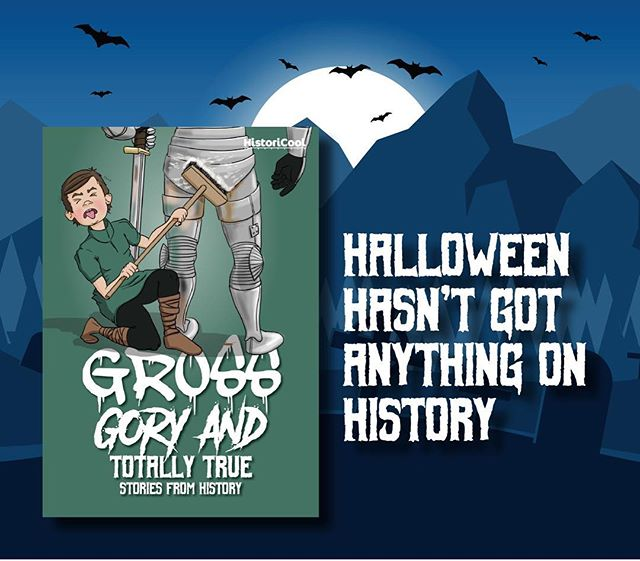 The MOST disturbing stories aren't about ghosts and witches - they come straight from the pages of history! Grab a copy of our new book to find out just how gruesome history can get!