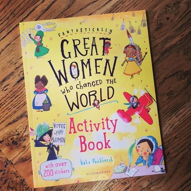 We get sent some pretty cool books, but this one would have to take the cake! 'Fantastically Great Women Who Changed the World' is the most beautifully illustrated and designed activity and sticker book featuring amazing women from history like Jane Austen, Coco Chanel, Frida Kahlo and Marie Curie. You need it. Go now. 🏃‍♀️🏃‍♀️🏃‍♀️