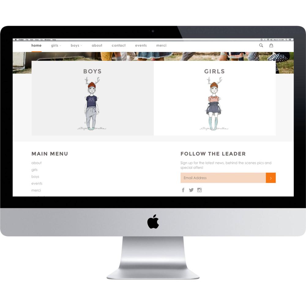 CITIZEN SMALLS | Web Design