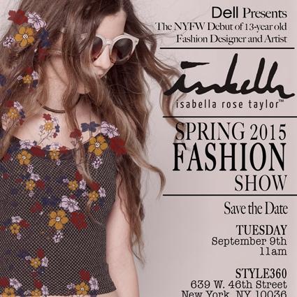 ISABELLA ROSE TAYLOR | NY Fashion Week
