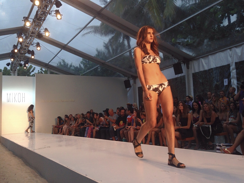 Mikoh Swimwear Runway @ the Raleigh