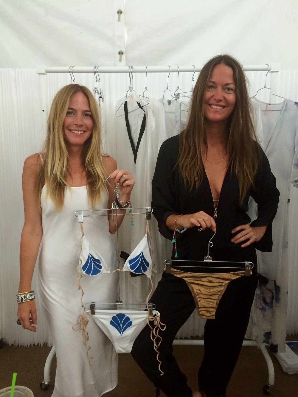 Carrie Jardine & Lisa Priolo of Cali Dreaming Swimwear