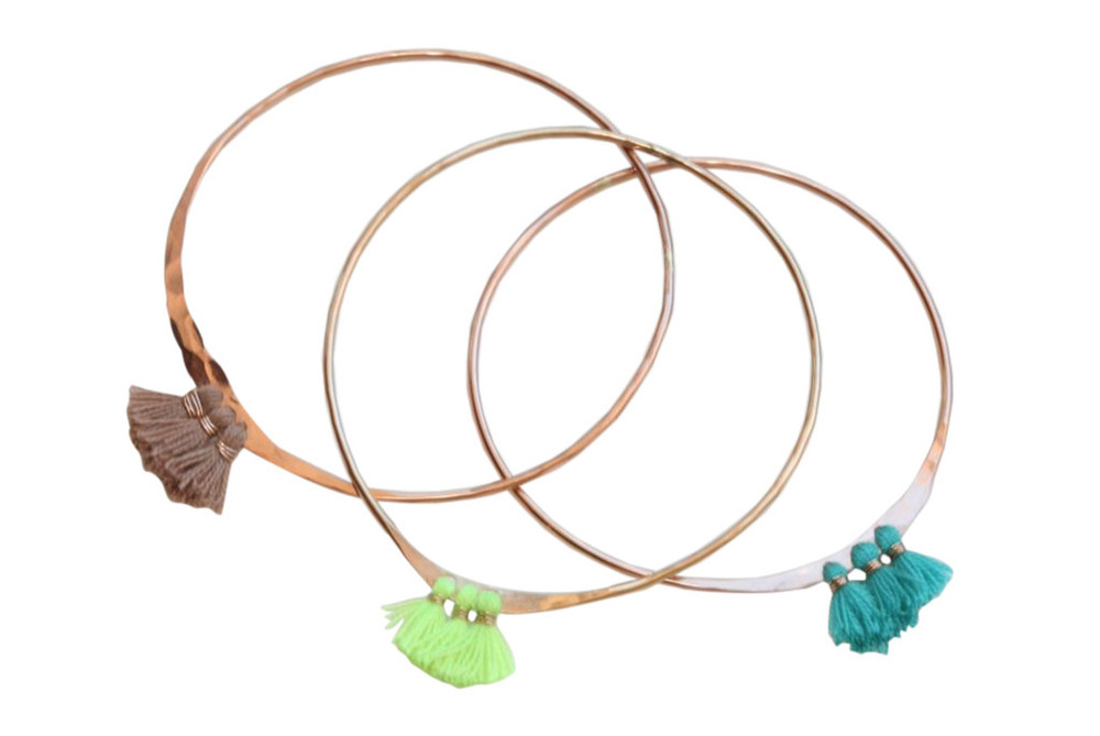 http://shopbikinibird.com/products/taurus-moon-fringe-bangles-in-gold-filled