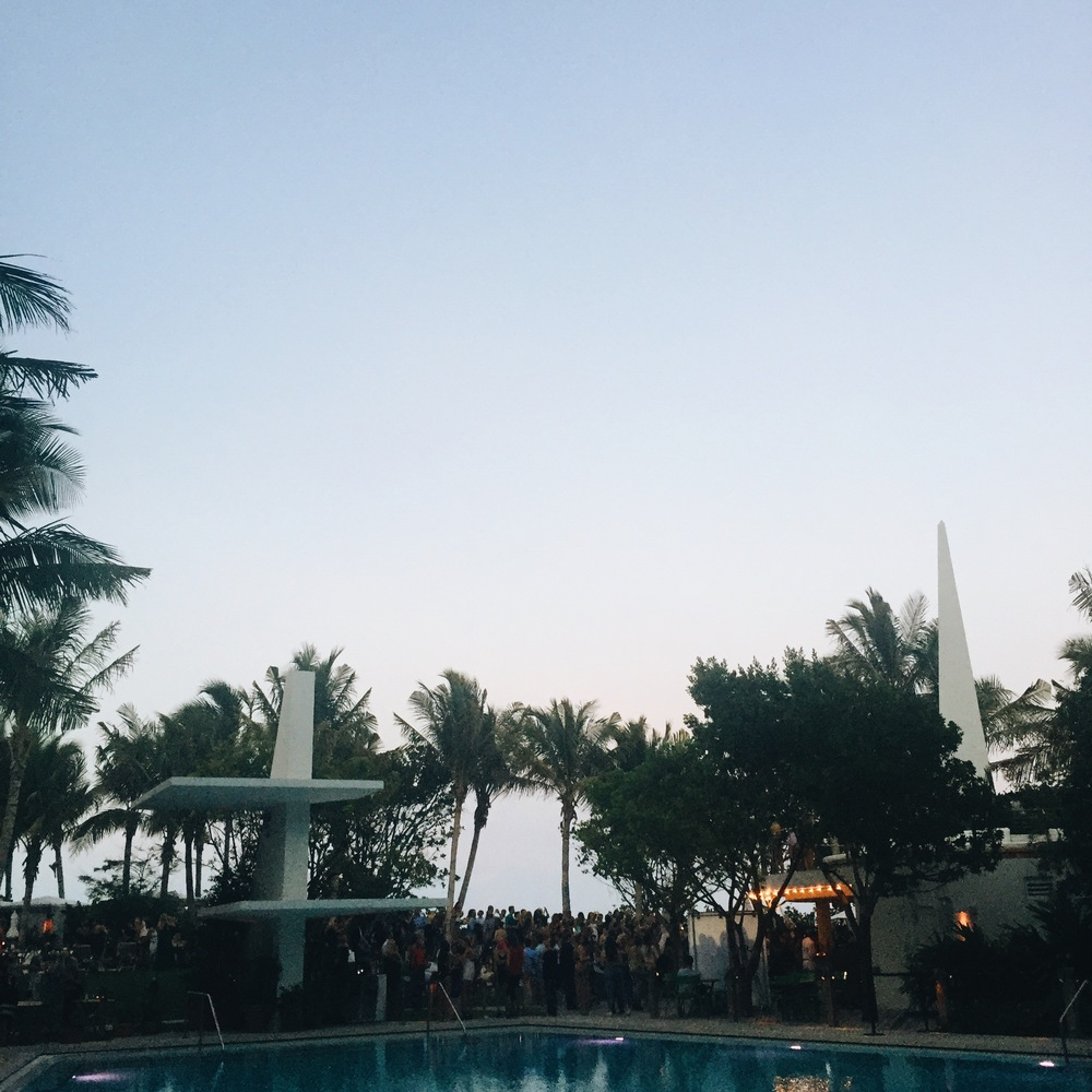 Great night with  Lolli Swim  +  Amuse Society  |  The Tropicale at The Edition