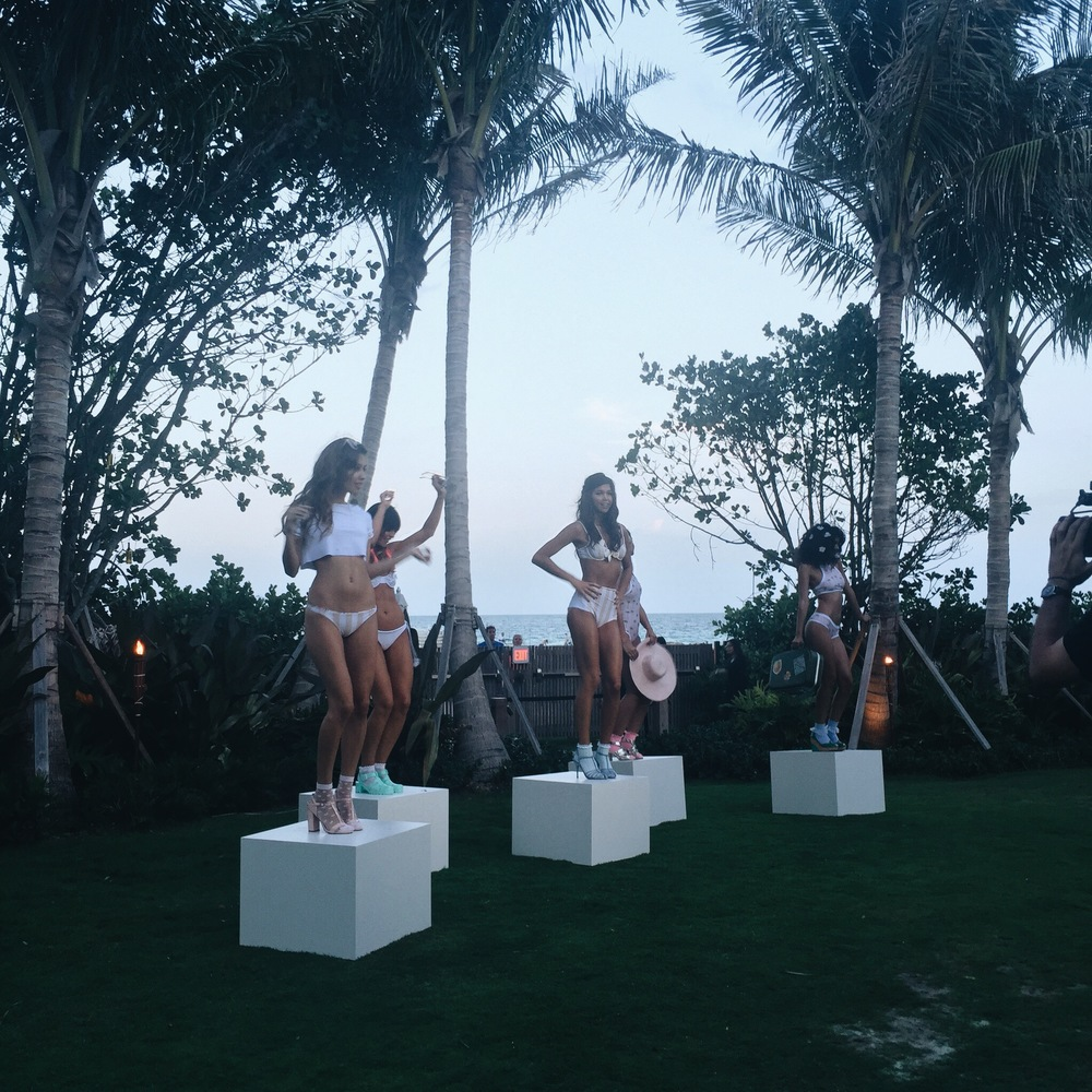 Lolli Swim Presentation Spring 2016 | The Tropicale at the Edition