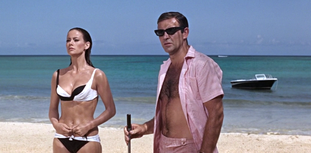 james bond girl bikini