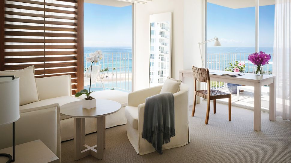 the modern honolulu ocean front suite