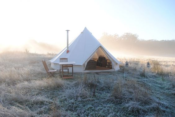 glamping tent the lane