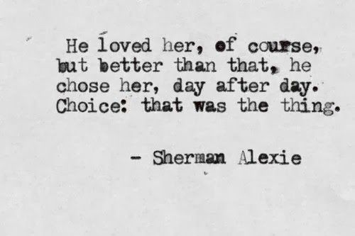 he loved her