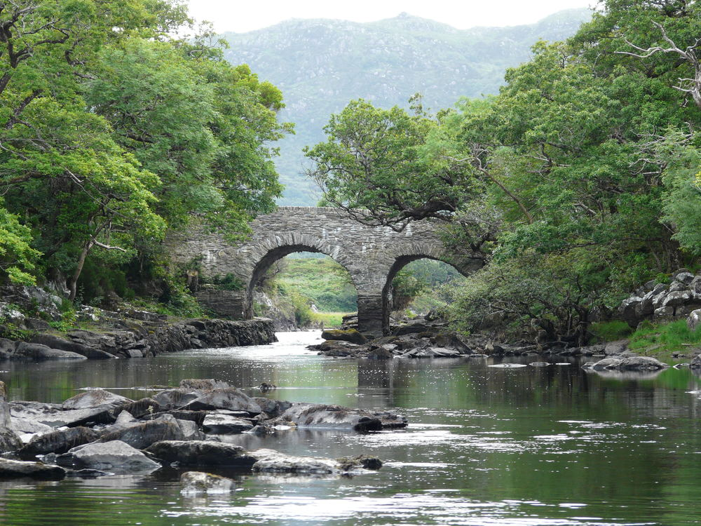 Old weir bridge killarney ireland