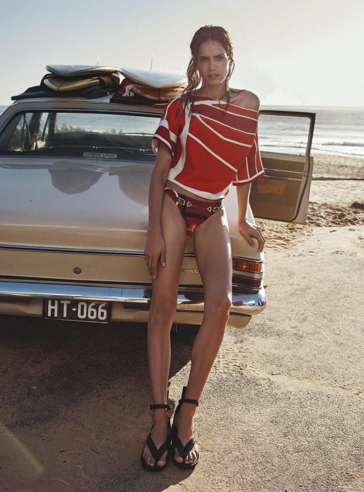 amanda wellsh vogue australia one summer editorial