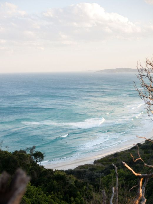 Tallows Beach, Byron Australia
