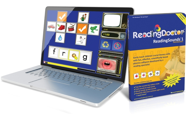 ReadingSounds™ 1 Pro Digital download version without QuickStart Guide, CD-ROM or box.