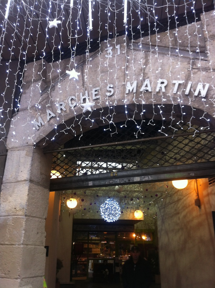 Marché Couvert St. Martin gets festive during the holiday season