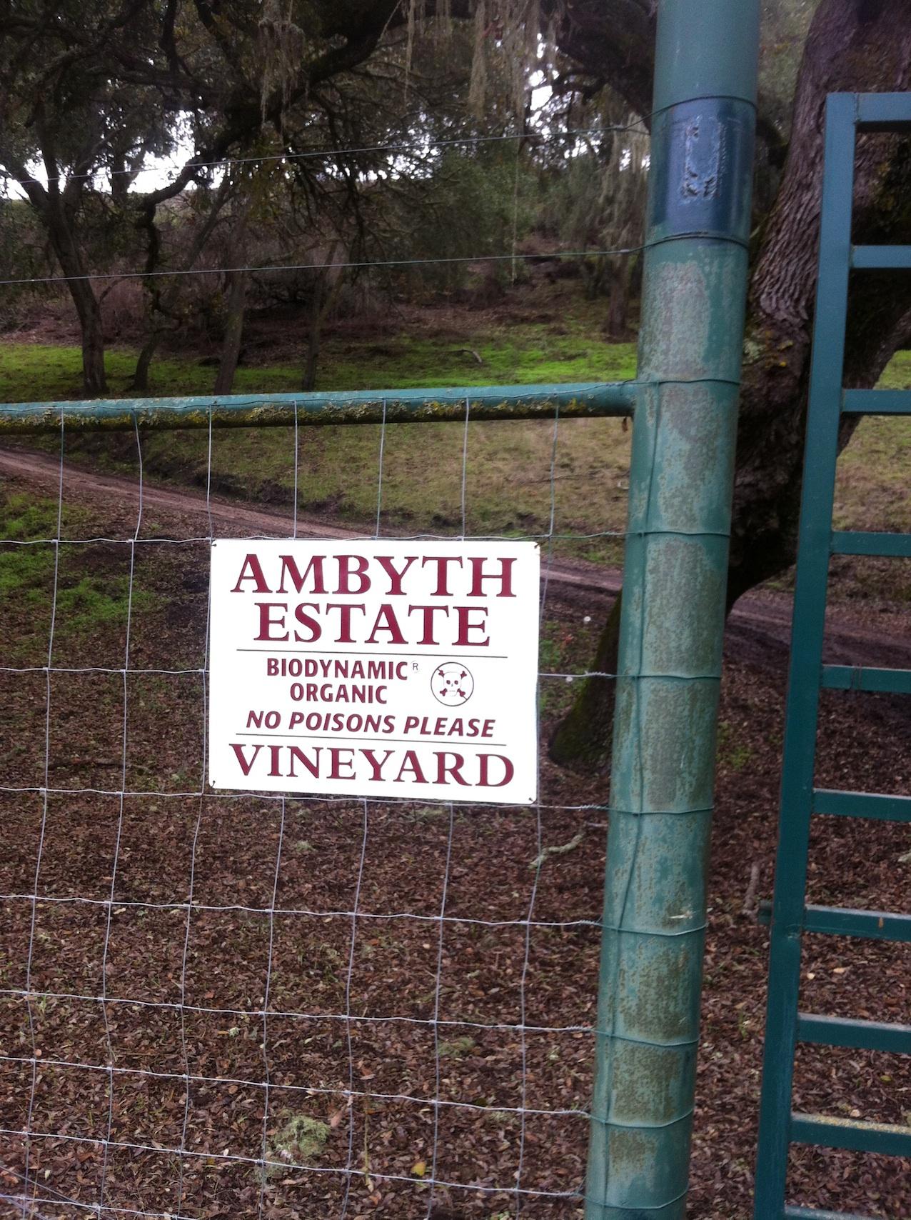 Ambyth Estate- No Poisons Please