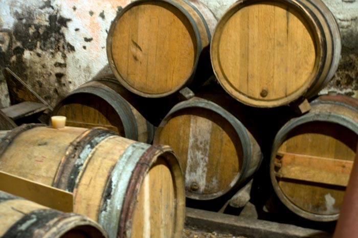 Wine barrels, Loire Valley-  photo courtesy of Terresa Murphy