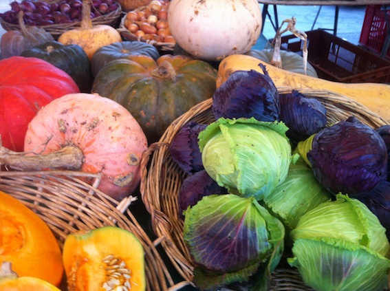 Fall flavors at Marché Bastille