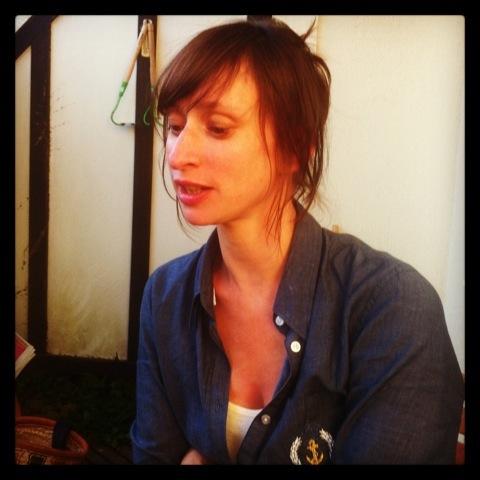 L'auteure Sophie Lemp