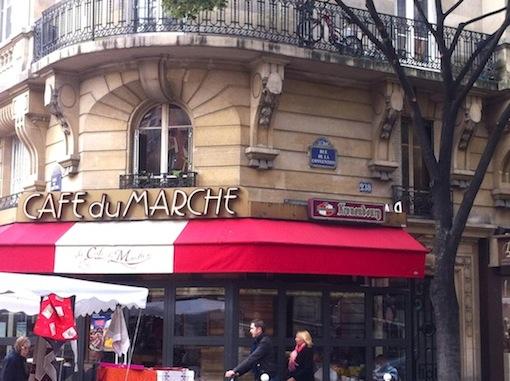 Café du Marché rue Convention, 75015