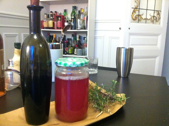 Our inspirational ingredients; Blueberry and Lemon Zest Shrub & Rhubarb and Rosemary Syrup