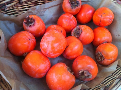 Persimmons at Marché Batignolles