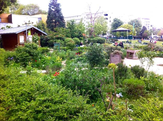 Jardin Villemin, 75010