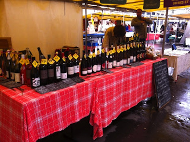 Wines at Marché Bourse