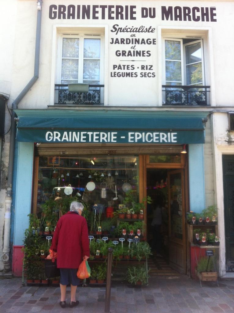 La Graineterie du Marché, 8 place Aligre 75012