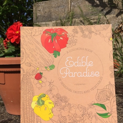 Edible Paradise An Adult Coloring Book Of Seasonal Fruits And Vegetables Jessie Kanelos Weiner