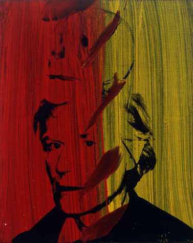 Andy Warhol Self-Portrait with Skull 1978