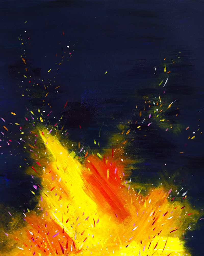 Confetti Fire #1 - See More