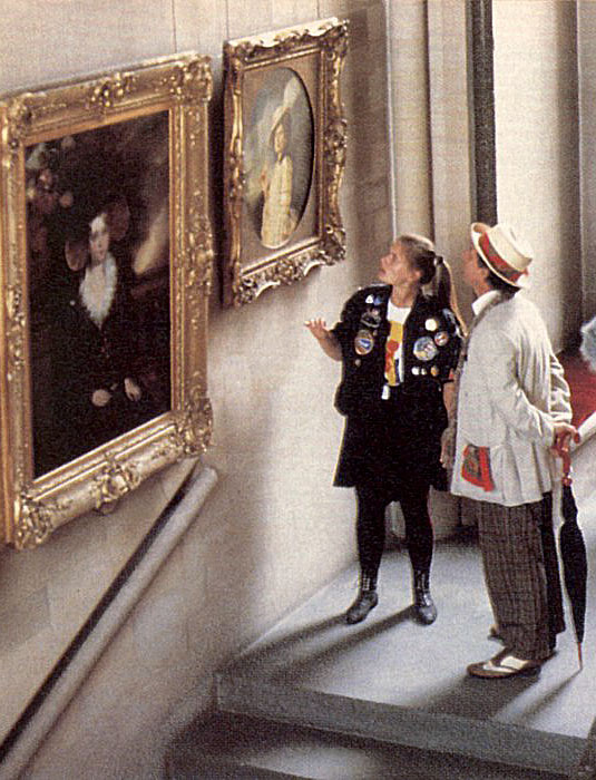 The Doctor and Ace find a portrait of Ace in Windsor Castle