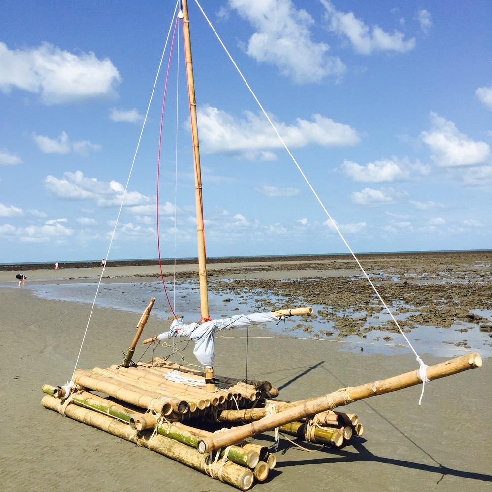 BL* Worker's sailing craft sighted in FNQ last weekend  * Before Laser