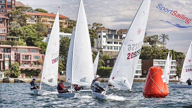 Tight racing in front of The People's Democratic Republic of Point Piper