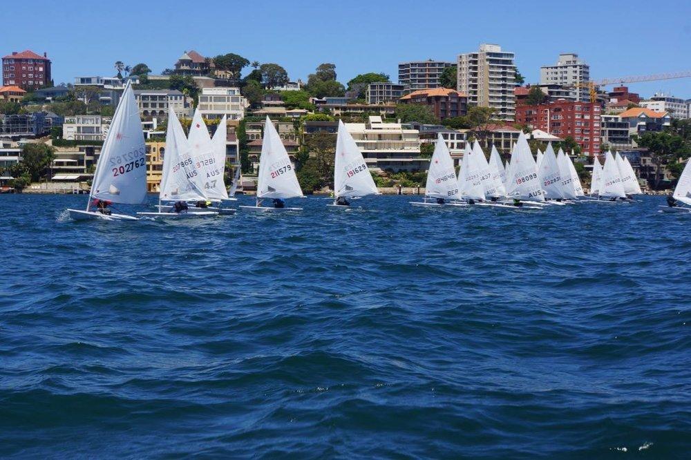 A Big Fleet Hits the Harbour.