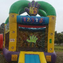 A jumping castle will play centre stage at the Family BBQ.