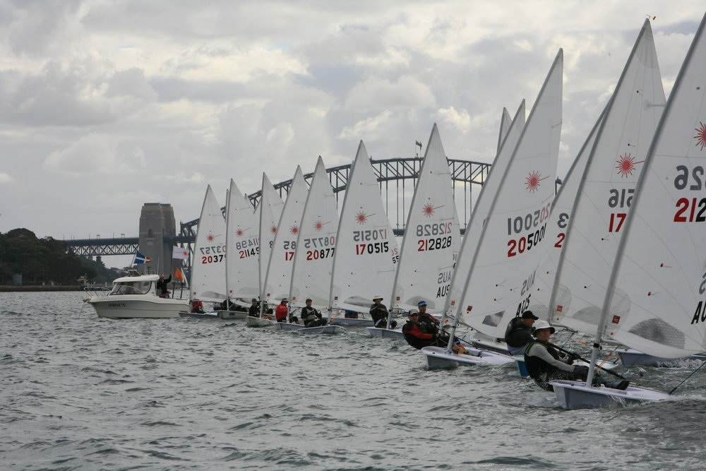 The Standard Fleet Prepares to Start