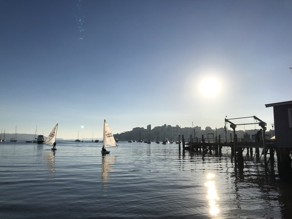 A perfect start to our Winter Series. Light winds inside Double Bay, gave way to a perfect 10 knots on the course.