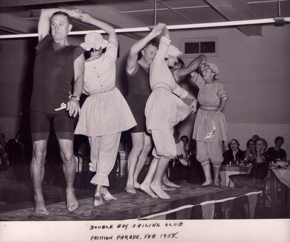 A 1958 party at DBSC. With the AGP we're bringing back the festive spirit of the early days.