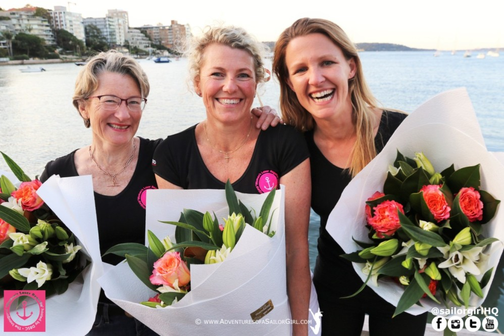 The Incredible Women's Laser Regatta Committee.