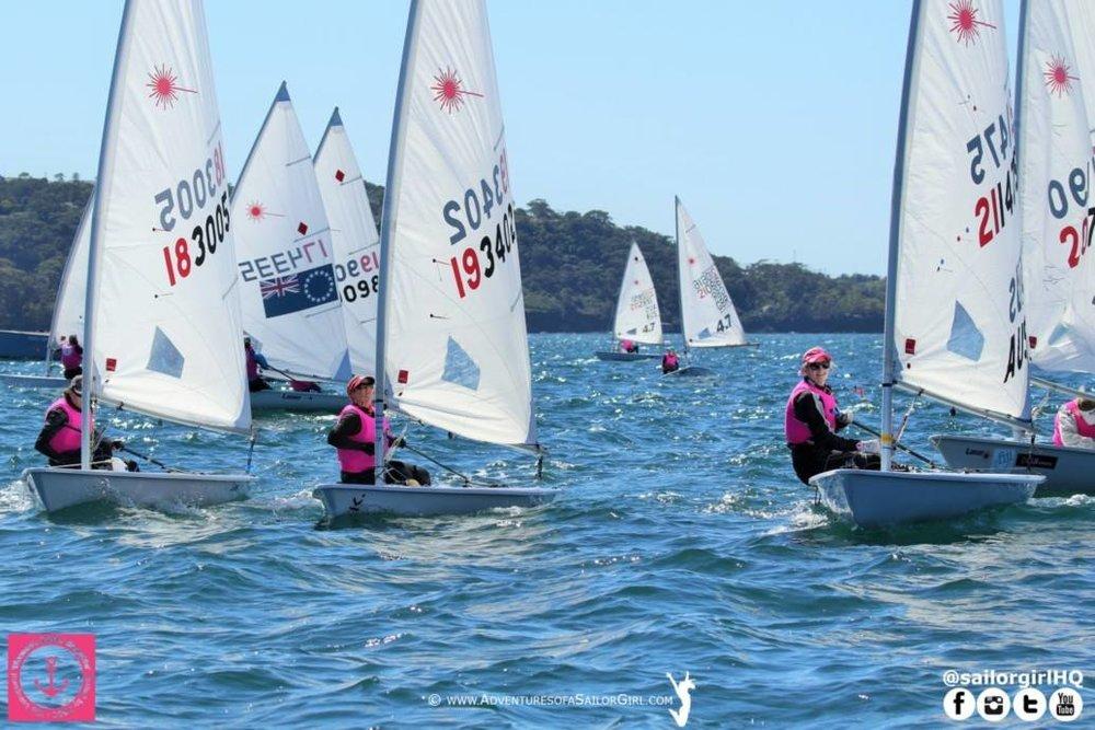 The Pink Fleet Races.