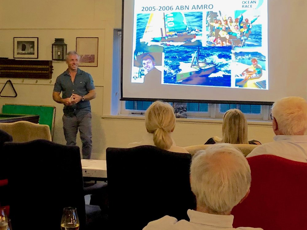 Rob Greenhalgh Speaks at Sailing Stories.