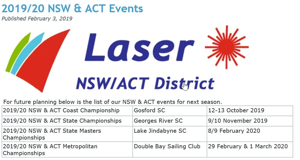 Next Season's State Laser Highlights.