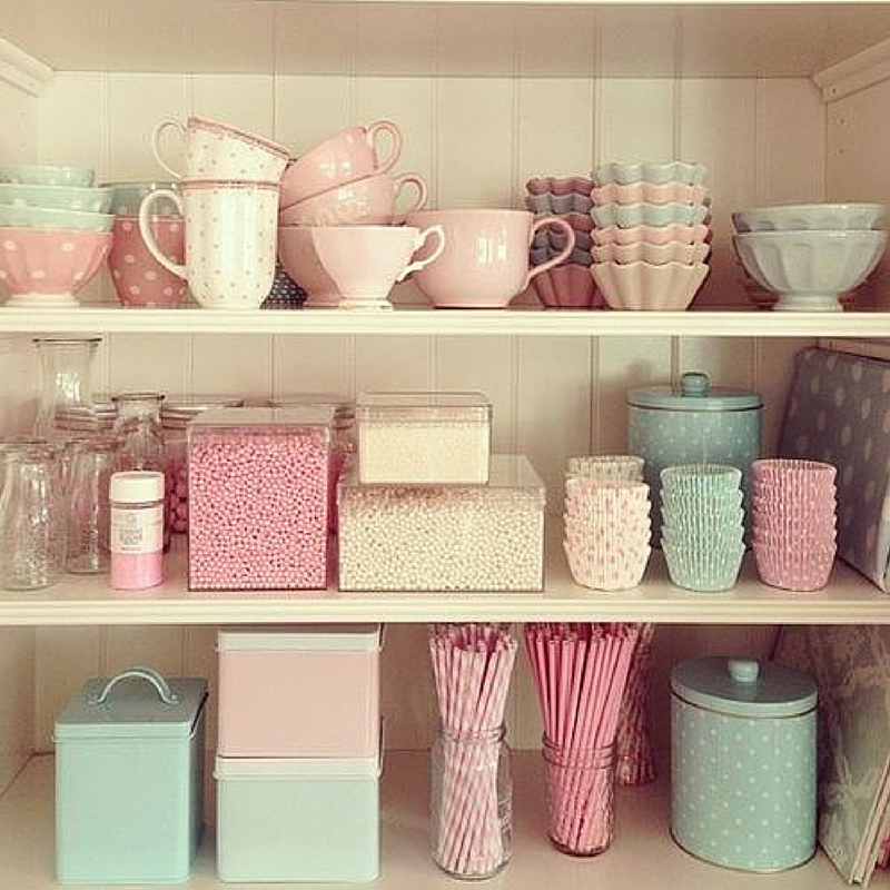 Pastelowa kuchnia 1001 rzeczy for Bibelots decoration cuisine