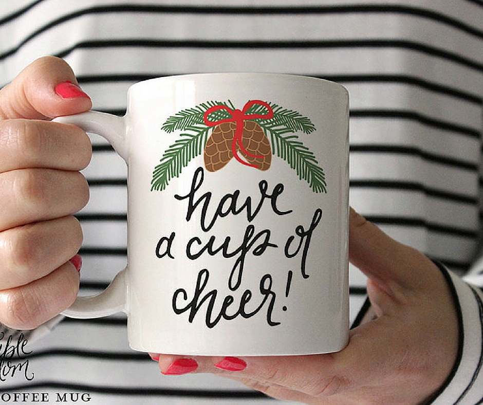 Kubek have a cup of cheer:  etsy.com