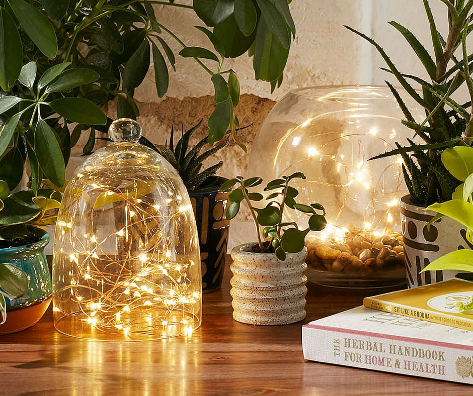 Firefly lights:  urbanoutfitters.com